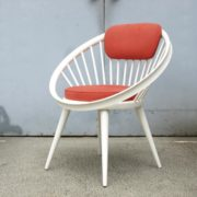Pair of circle chairs, Sweden design