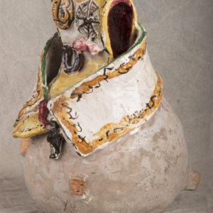 Ceramica cucca Portafortuna Andrea Parini