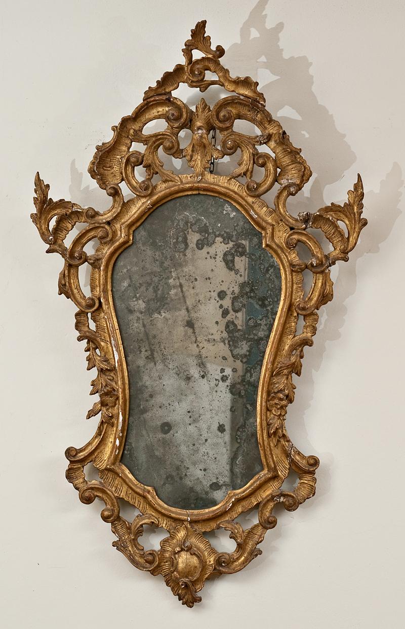 specchiera ventolina veneziana del settecento de munari