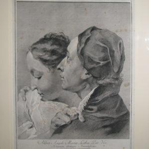 700_acquaforte_incisione_Piazzetta_amanti_Museo_Correr_Cattini_1743_Venezia_engraving_couple_of_lovers_Venice