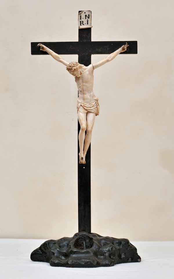 Ivory sculpture Christ crucified