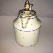 700 Settecento teiera in porcellana, manifattura di Vienna Porcelain teapot, neoclassical period, Wien