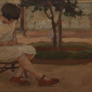 Dall'Amico, Bambina dalle scarpe rosse