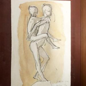 Amleto Sartori, disegno studio di bimbi
