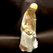 Statuina ceramica Madonna con Gesù Bambino Lenci