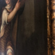 600_dipinto_painting_cristo_gesù_bambino_scuola_veneta_egidio_martini_cornice