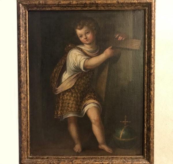 600_dipinto_painting_cristo_gesù_bambino_scuola_veneta_egidio_martino