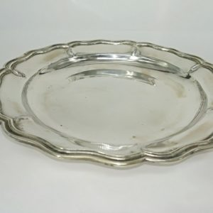piatto in argento venezia