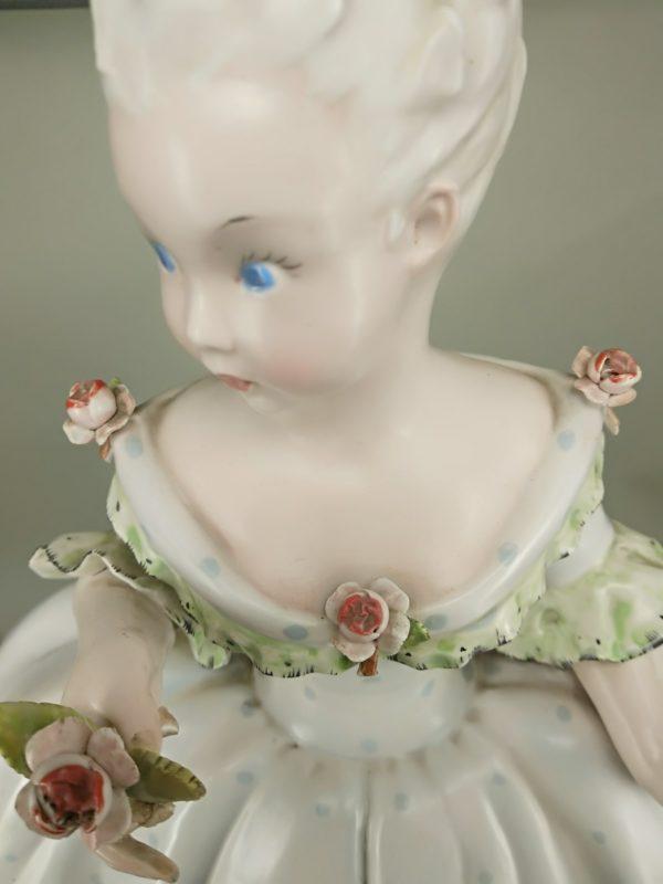 Dama in ceramica del 700 manifattura Tosin