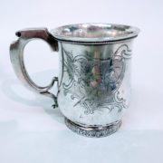 boccale d'argento usa 1868