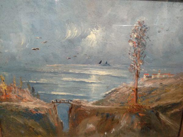 coppia dipinti a. franzoni