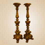 Coppia candelieri De Munari