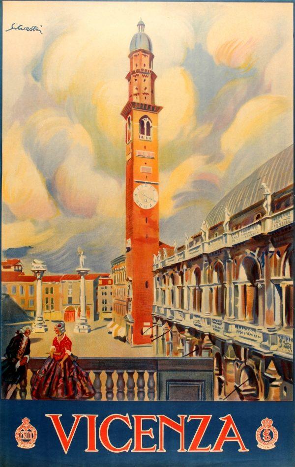 poster Piazza dei Signori Vicenza
