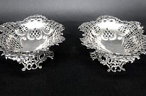 coppia cestini argento traforati 2