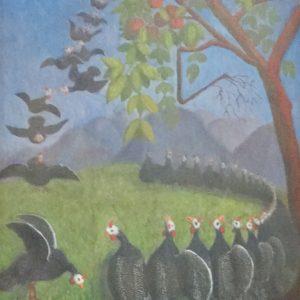 dipinto faraone Galeotti