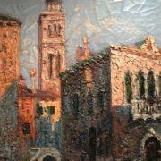 900-Italo-Giordani-pittore-Venezia-Venice-Canale-Veneziano-dipinto-painting (3)