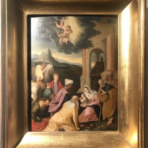 Adorazione dei Magi after Jacopo Bassano